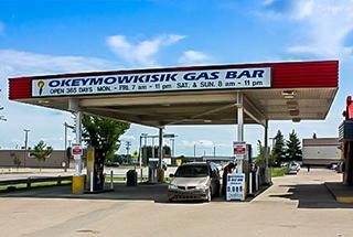 Divisions okeymowkisk gas bar